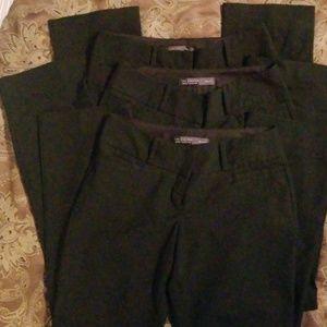 3 pairs Black Drew Fit Pants